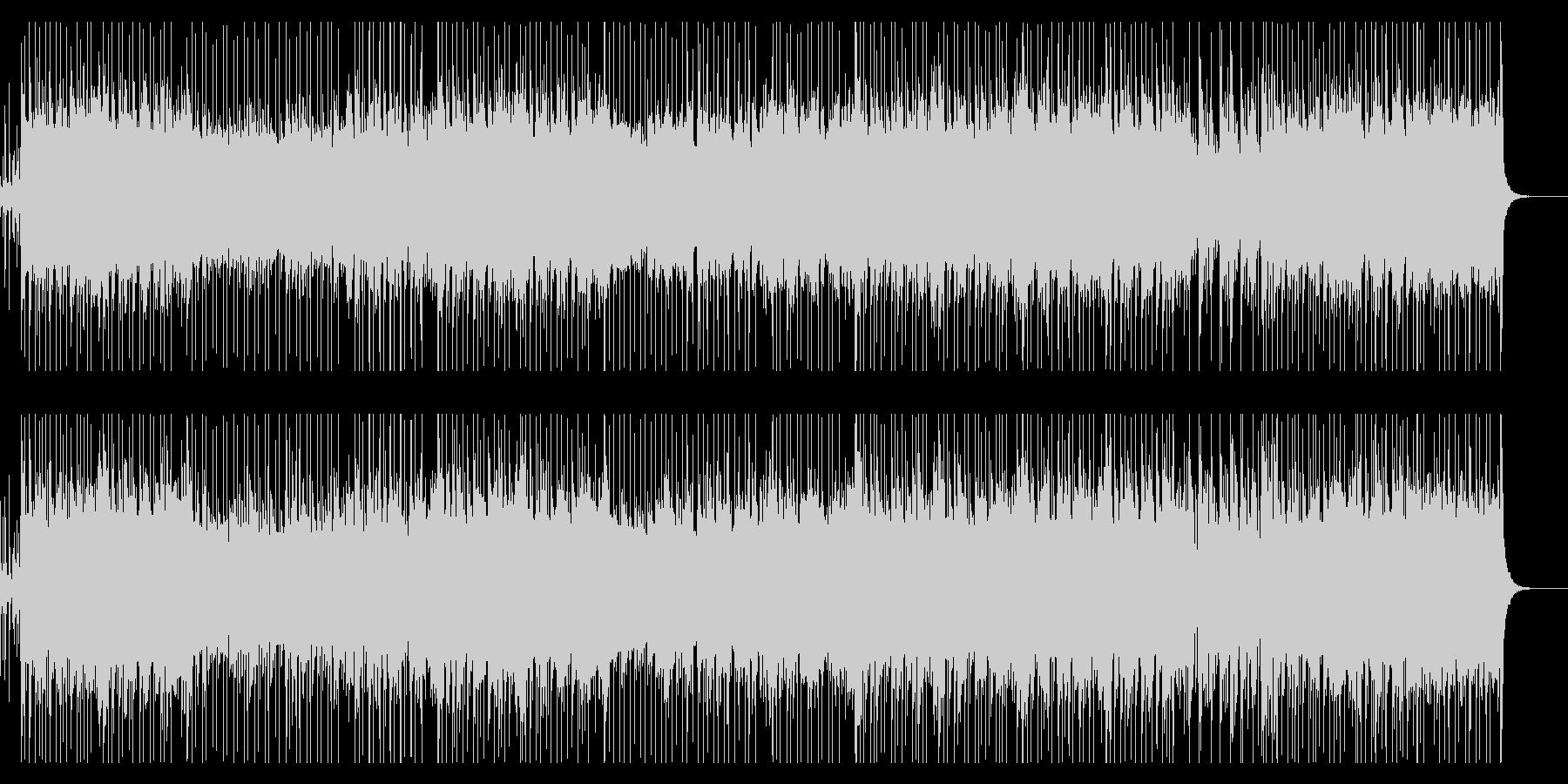 企業VP・おしゃれなピアノフュージョンの未再生の波形