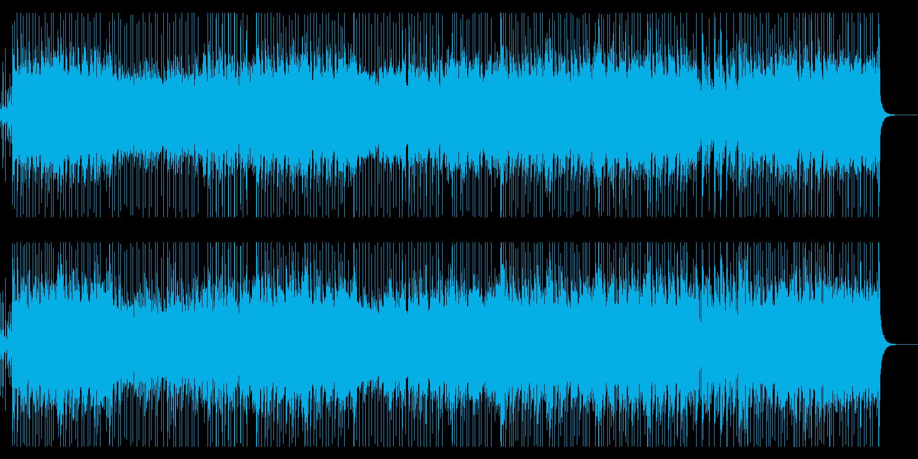 企業VP・おしゃれなピアノフュージョンの再生済みの波形