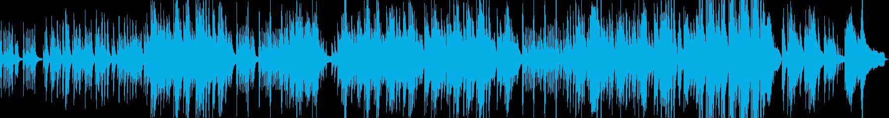 日本的な旋律の情緒的で和風なピアノソロの再生済みの波形