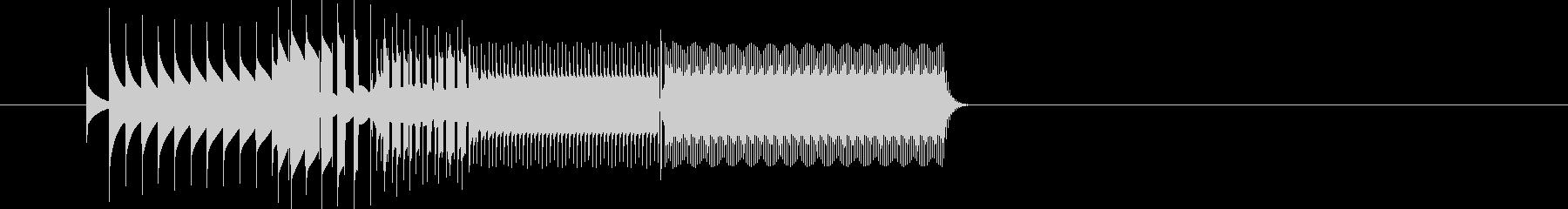 ピコンスタート音クリックファミコン音の未再生の波形