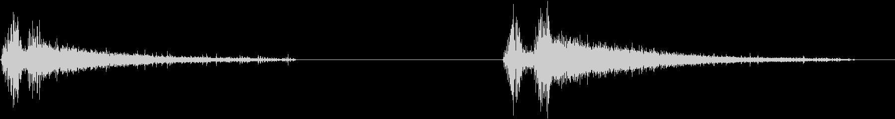 ドリル、電動、ハンドヘルド、オン、...の未再生の波形
