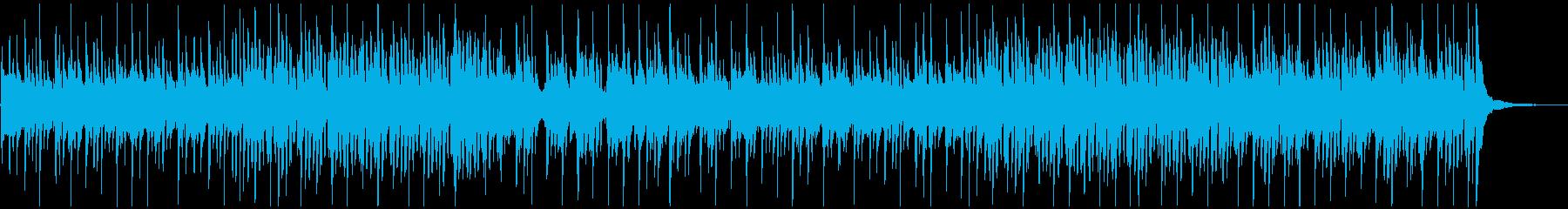 プロフィールビデオに最適なアコギ曲の再生済みの波形