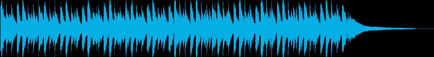 企業VP・オープニングジングル・感動的の再生済みの波形