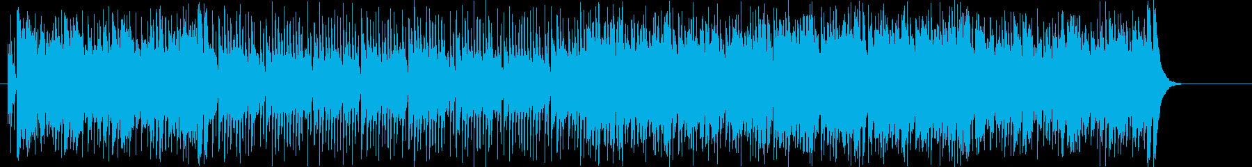 果敢で明瞭なオープニング向けポップスの再生済みの波形