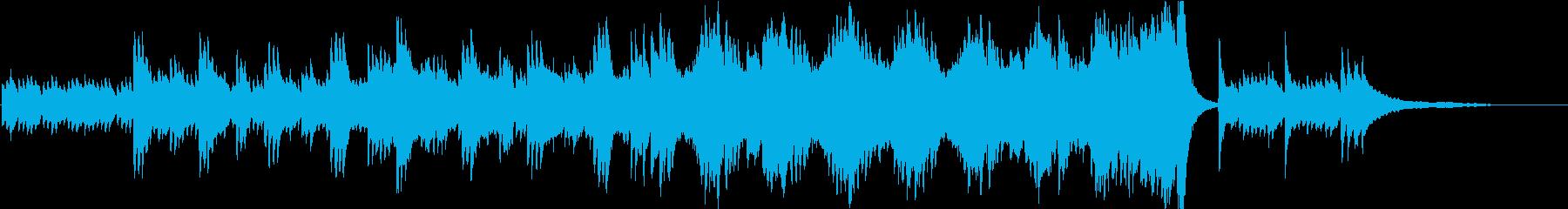 短縮版】エレガントで落ち着きのあるピアノの再生済みの波形