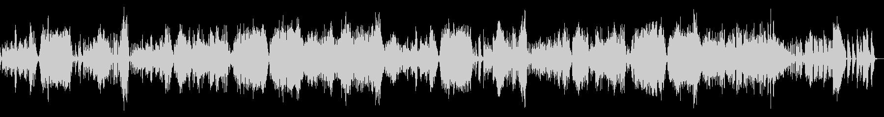 ベートーベン/バイオリンソナタ8–2の未再生の波形
