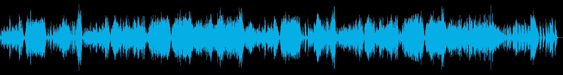ベートーベン/バイオリンソナタ8–2の再生済みの波形