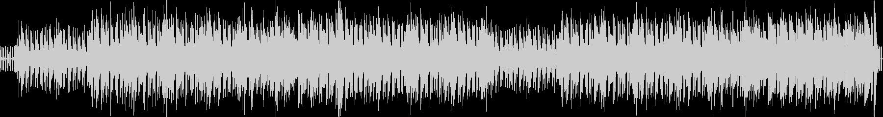 リズミカルで陽気なBGMの未再生の波形
