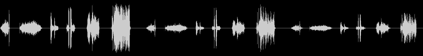 ローププル2の未再生の波形