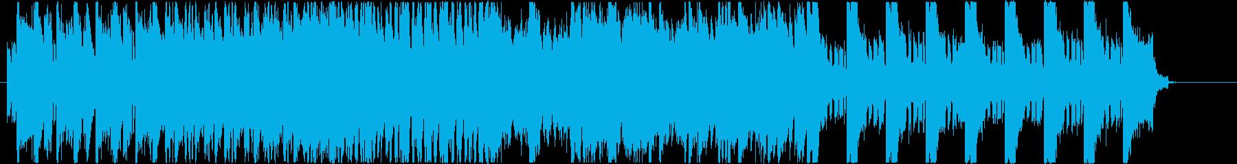 サイケデリックな楽曲です。の再生済みの波形