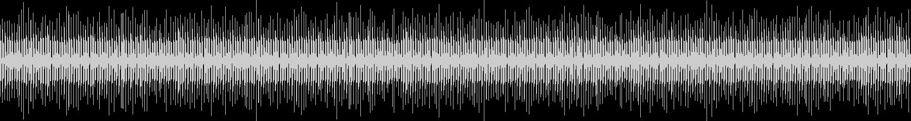 ほのぼのとした日常、ループBGMの未再生の波形