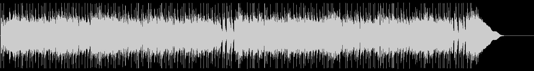 ドラムとベースのみ・ロック系ビートの未再生の波形