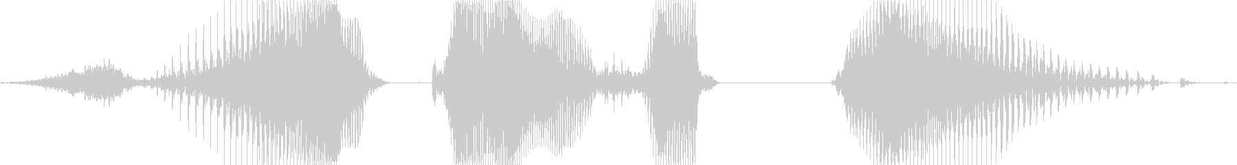 正解発表の未再生の波形