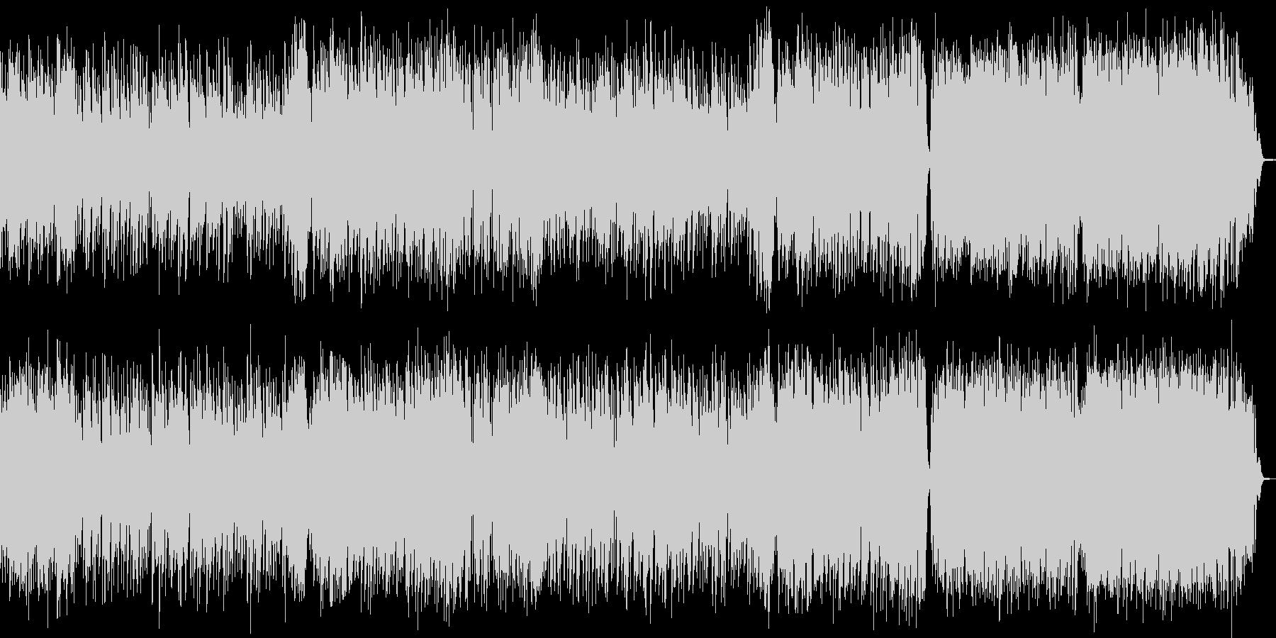 【ストリングス主体でドラマチックBGM】の未再生の波形