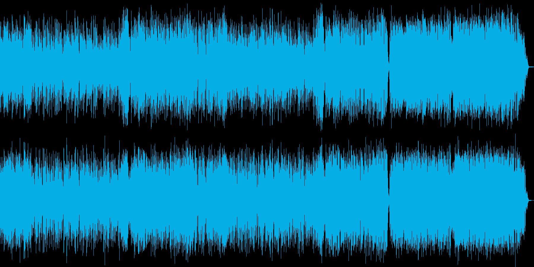 【ストリングス主体でドラマチックBGM】の再生済みの波形