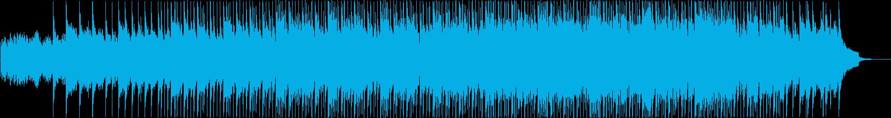高揚感あるコーポエイトポップミュージックの再生済みの波形