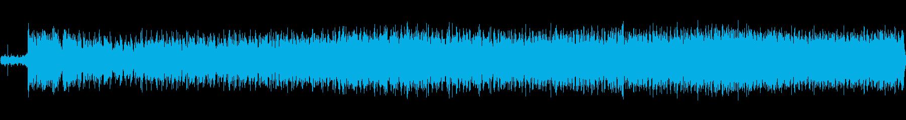 パトカー:インテリア:高速運転、サイレンの再生済みの波形