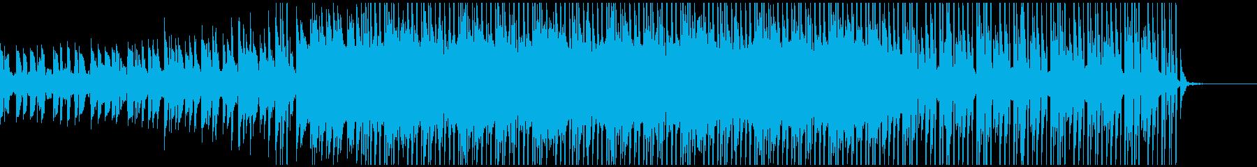 不気味な雰囲気のビートの再生済みの波形