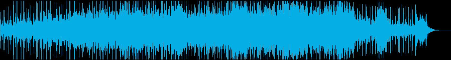 異様な雰囲気のダークで美しいテクノの再生済みの波形
