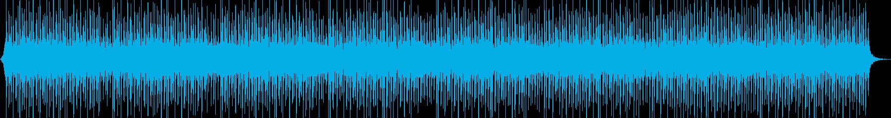 ニュース読みのBGM/テクノ/テクノ系の再生済みの波形