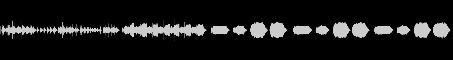 露出した自動ウィンドウモーターの未再生の波形