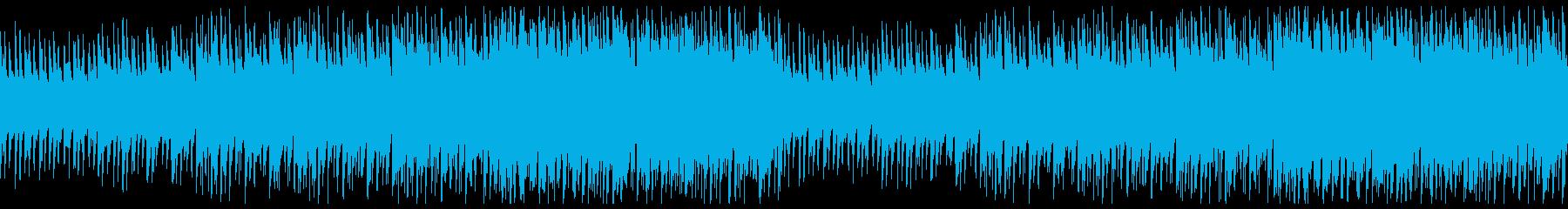 【ドラム抜き】おしゃれなEDMの再生済みの波形