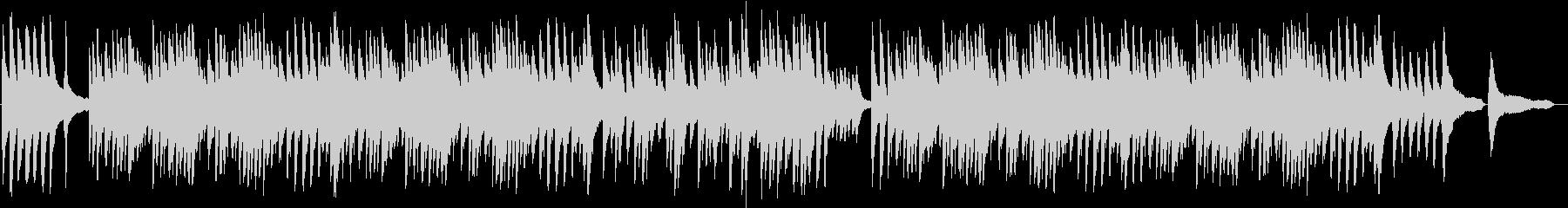 美しい和風ピアノバラードBGMの未再生の波形
