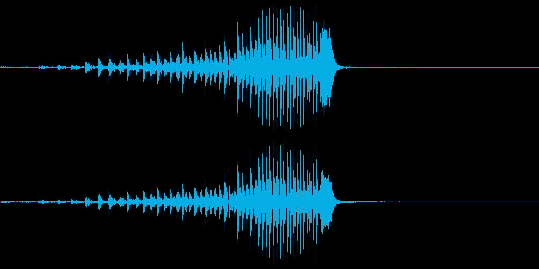 シンバル、カートゥーンコメディパー...の再生済みの波形