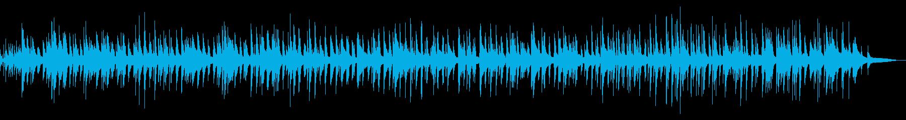 エンディング系おしゃれ切ないピアノジャズの再生済みの波形