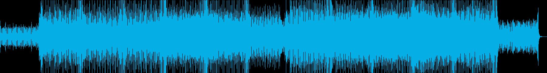 ファンタジーなシンセポップハウス系の再生済みの波形