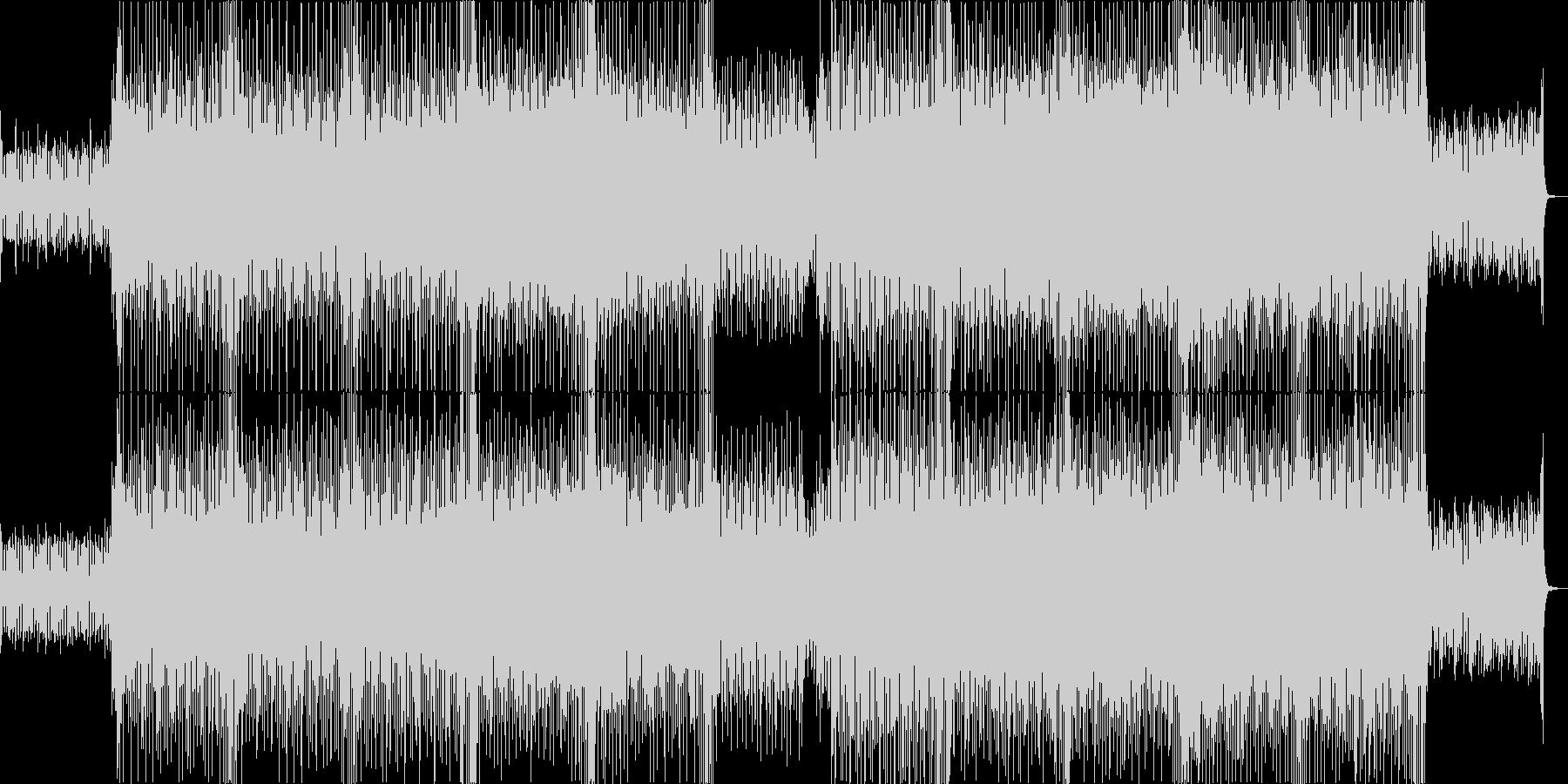ファンタジーなシンセポップハウス系の未再生の波形