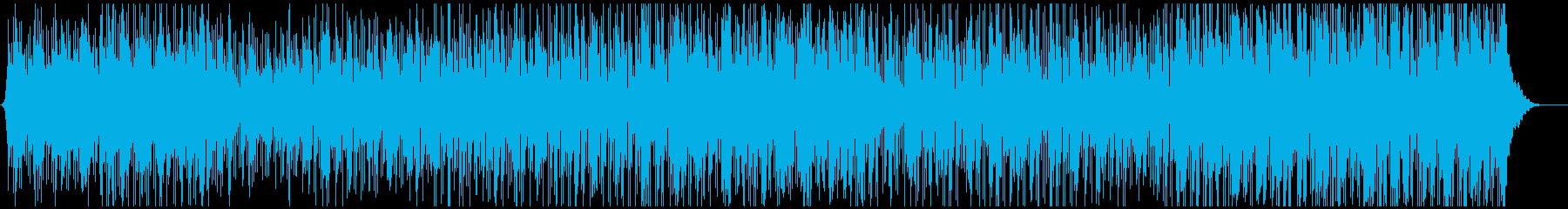 レトロ歌謡、ボサノバBGMの再生済みの波形