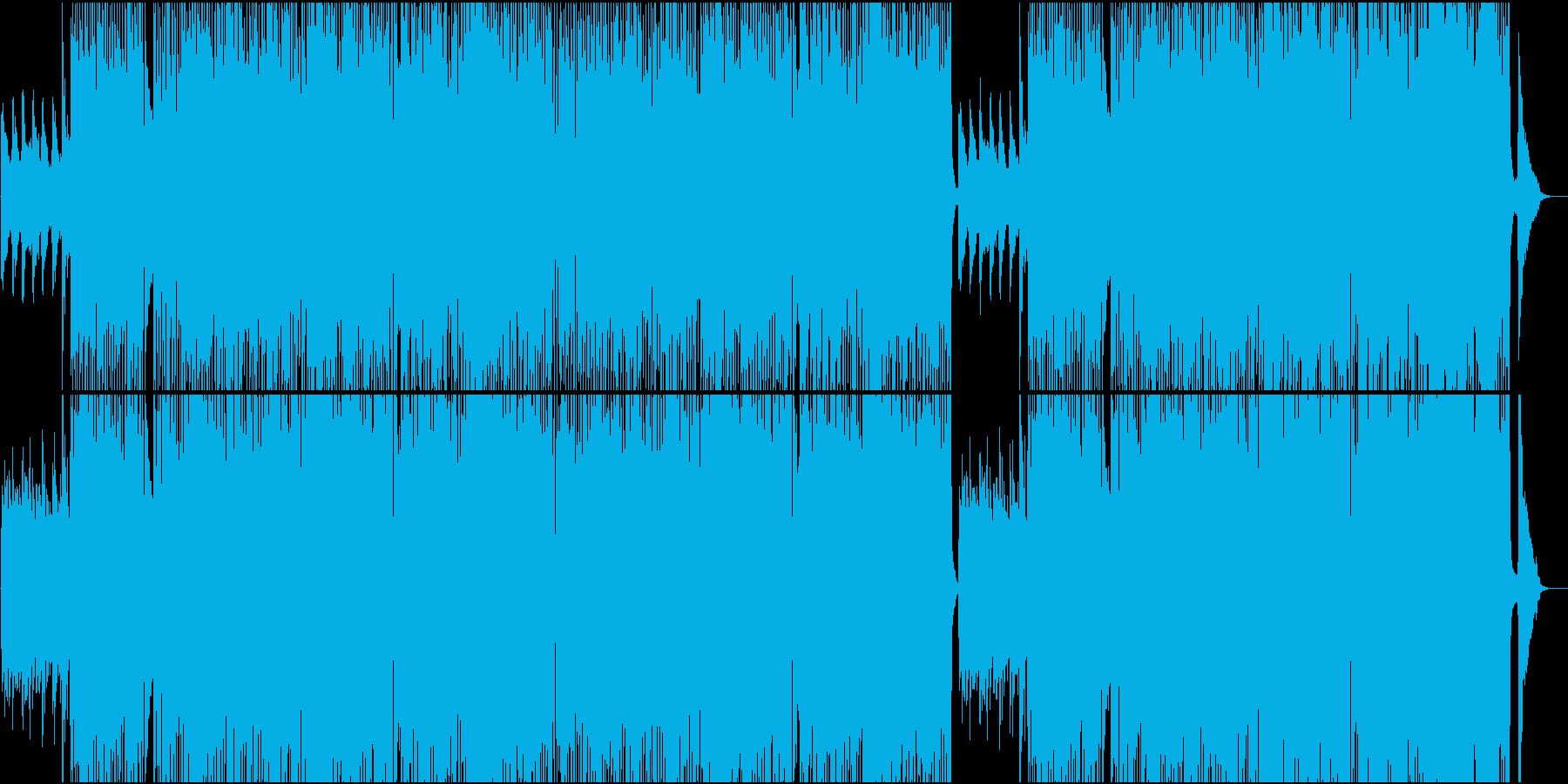 グロッケンと木琴のメロが可愛い軽快な楽曲の再生済みの波形