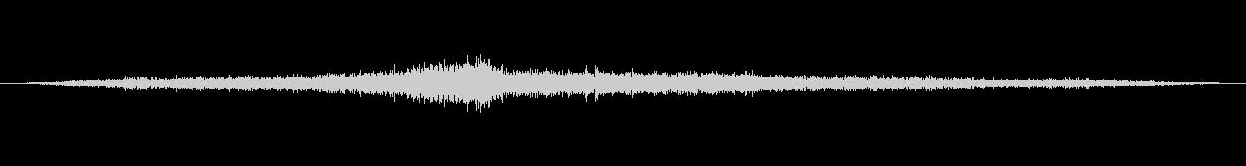交差点の音3の未再生の波形