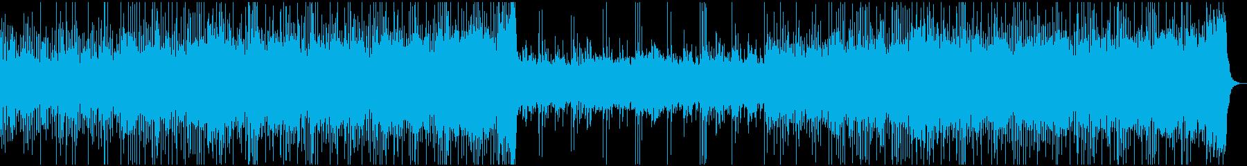 エルギター、ホーン、ピアノ、エレク...の再生済みの波形
