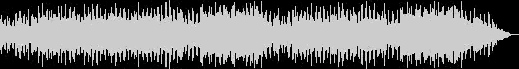 不思議な森、幻想的な雰囲気の3拍子BGMの未再生の波形