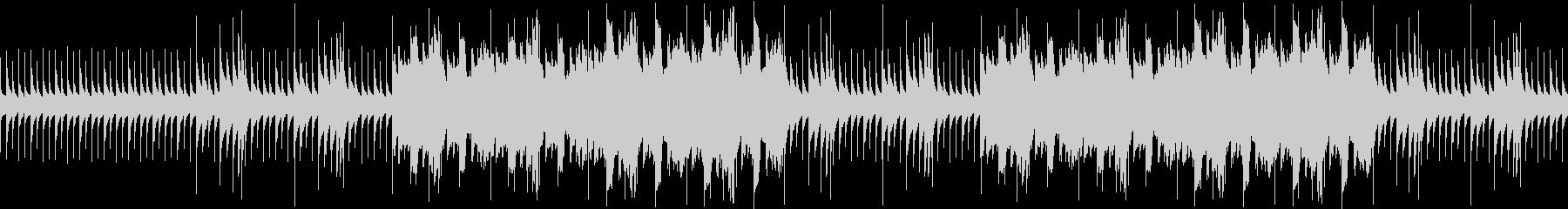 オルゴールのホラーbgm【ループ可】の未再生の波形