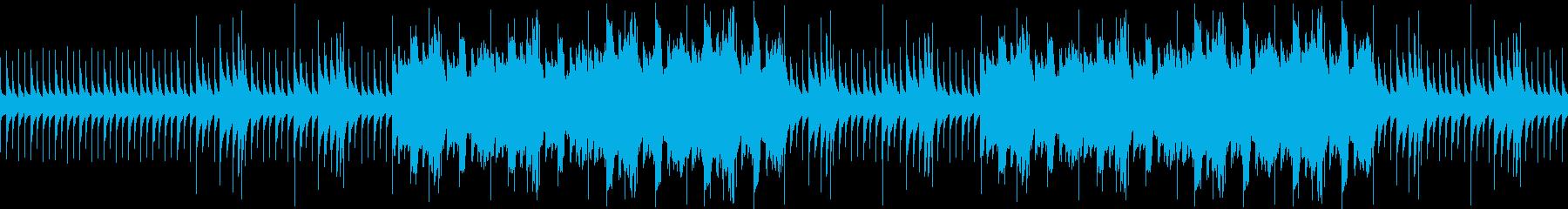 オルゴールのホラーbgm【ループ可】の再生済みの波形