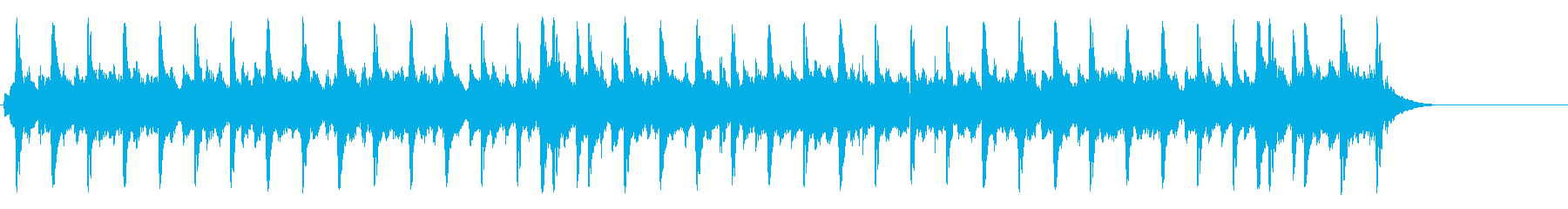 懐古的で温かいセミクラ(A~サビ~A)の再生済みの波形