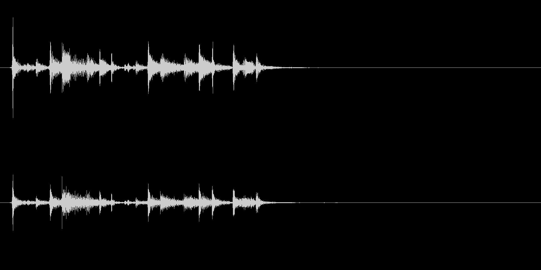 ティンパニリズム、(手つき)オリエ...の未再生の波形