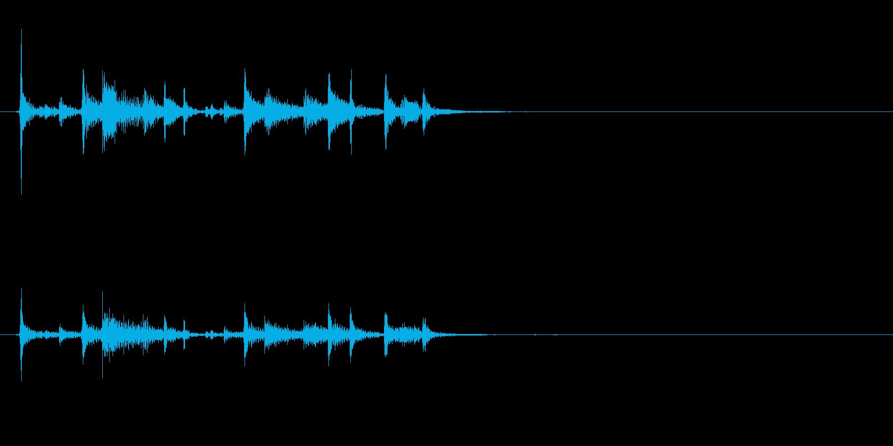 ティンパニリズム、(手つき)オリエ...の再生済みの波形