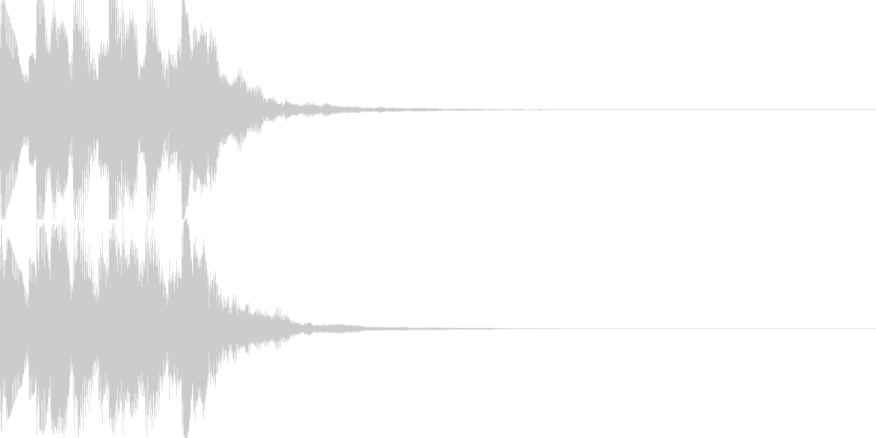 UP_チャンスアップ_嬉しい効果音の未再生の波形