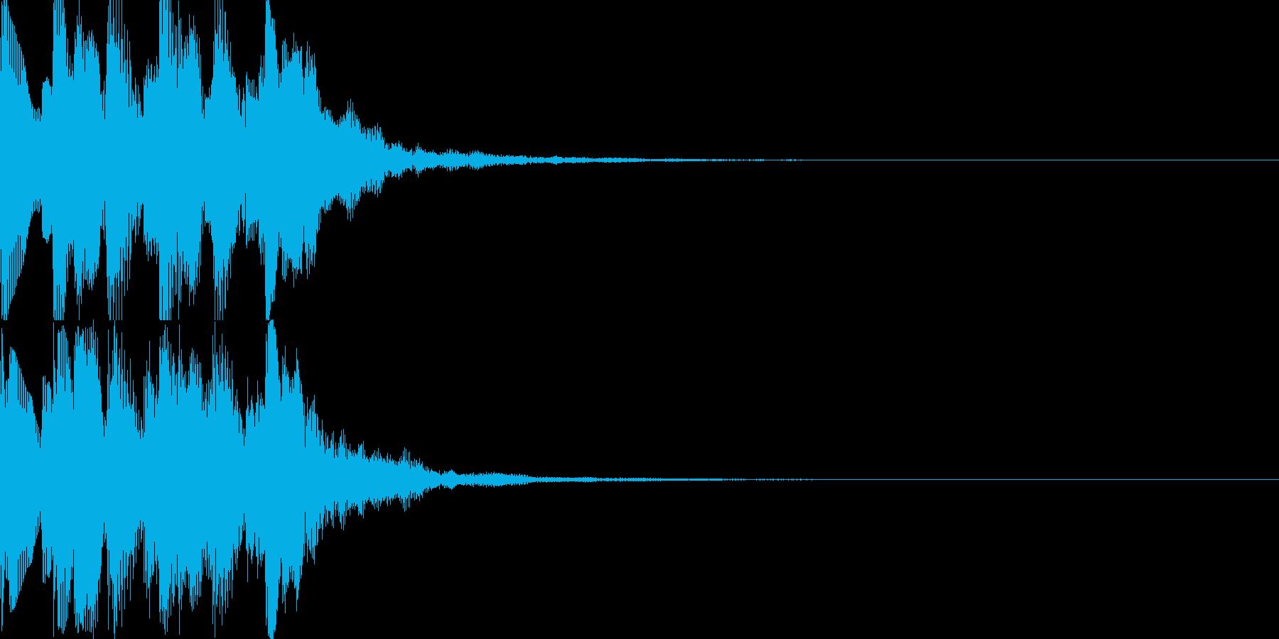 UP_チャンスアップ_嬉しい効果音の再生済みの波形