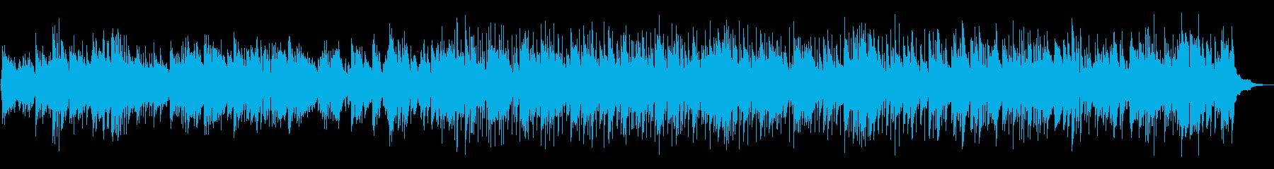 長閑な午後のアコギBGMの再生済みの波形
