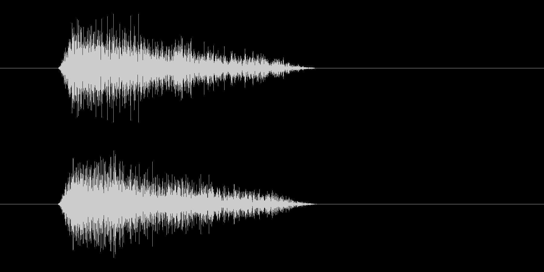 レーザー音-89-3の未再生の波形
