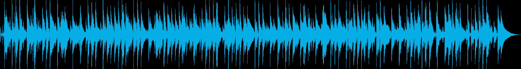 お洒落なジャズバラードの再生済みの波形