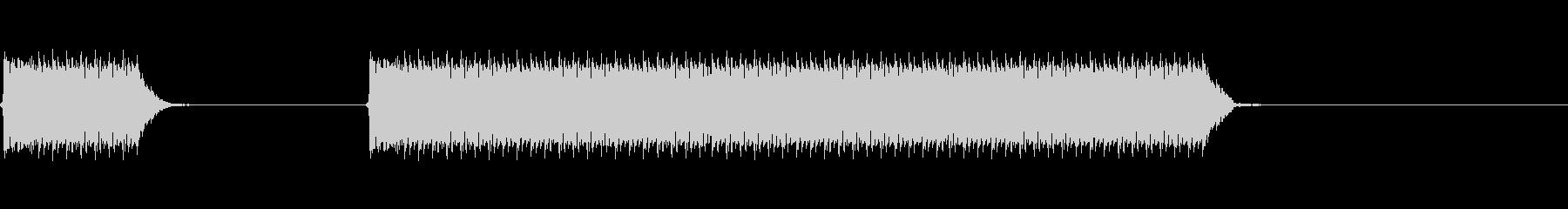 ホイッスル/ピッピーー(遅め)試合終了の未再生の波形