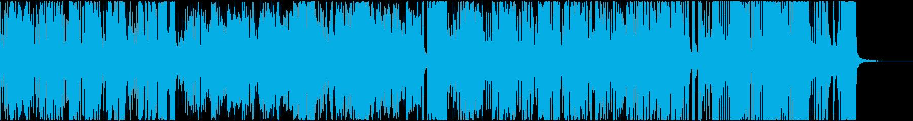 テーマ曲風ビッグバンド _前奏短なしの再生済みの波形