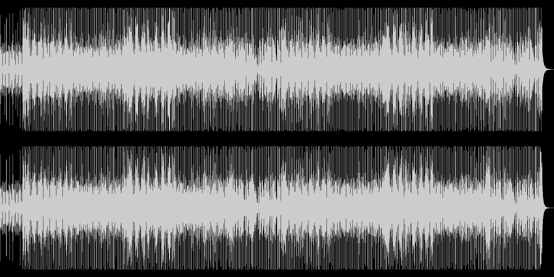YouTube シンキングタイムのBGMの未再生の波形
