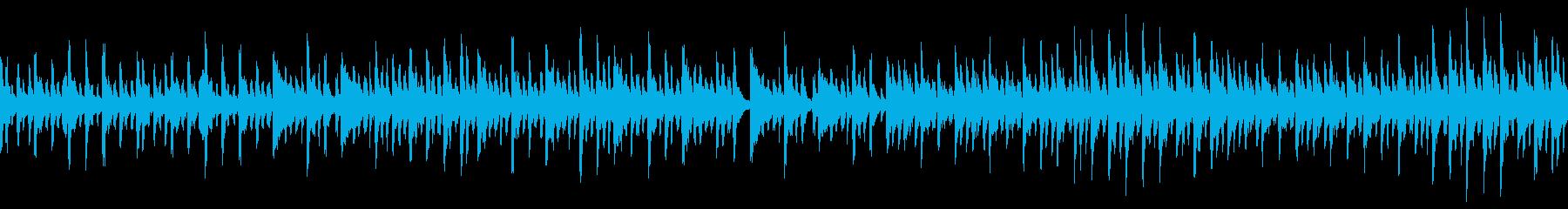 童話のようで幻想的なBGM(ループ仕様)の再生済みの波形